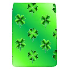 Shamrock Green Pattern Design Flap Covers (s)