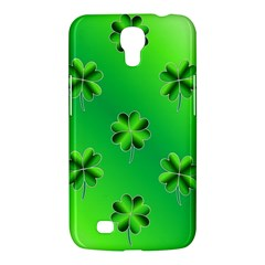 Shamrock Green Pattern Design Samsung Galaxy Mega 6.3  I9200 Hardshell Case