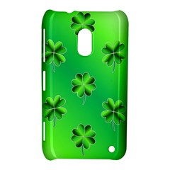 Shamrock Green Pattern Design Nokia Lumia 620
