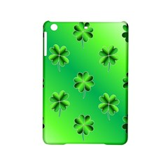 Shamrock Green Pattern Design iPad Mini 2 Hardshell Cases