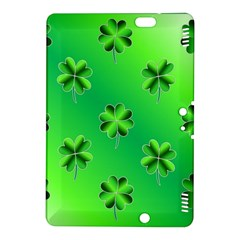 Shamrock Green Pattern Design Kindle Fire HDX 8.9  Hardshell Case