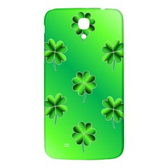 Shamrock Green Pattern Design Samsung Galaxy Mega I9200 Hardshell Back Case