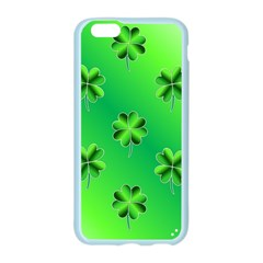 Shamrock Green Pattern Design Apple Seamless iPhone 6/6S Case (Color)