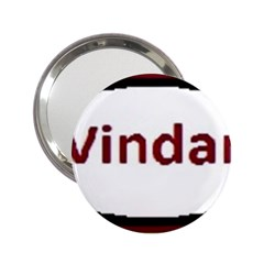 Vindar 2.25  Handbag Mirrors