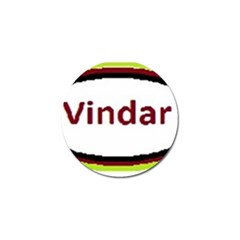 Vindar Golf Ball Marker