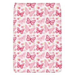 Cute Pink Flowers And Butterflies pattern  Flap Covers (S)