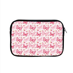 Cute Pink Flowers And Butterflies pattern  Apple MacBook Pro 15  Zipper Case
