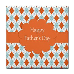 happy Father Day  Tile Coasters