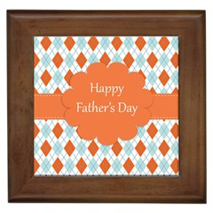 Happy Father Day  Framed Tiles