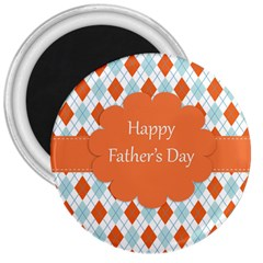 happy Father Day  3  Magnets