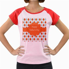 Happy Father Day  Women s Cap Sleeve T Shirt