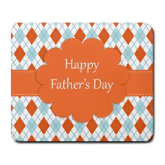 Happy Father Day  Large Mousepads