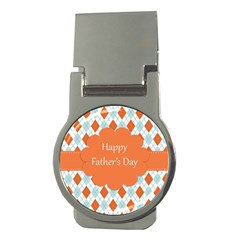 Happy Father Day  Money Clips (round)