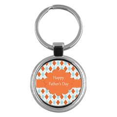 Happy Father Day  Key Chains (round)