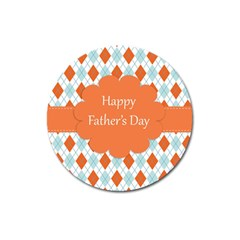 happy Father Day  Magnet 3  (Round)