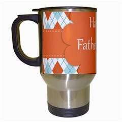 happy Father Day  Travel Mugs (White)