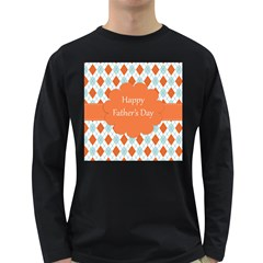 happy Father Day  Long Sleeve Dark T-Shirts