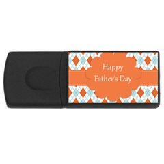 happy Father Day  USB Flash Drive Rectangular (4 GB)