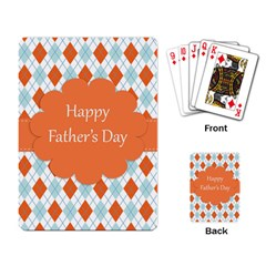 happy Father Day  Playing Card