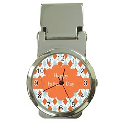 happy Father Day  Money Clip Watches