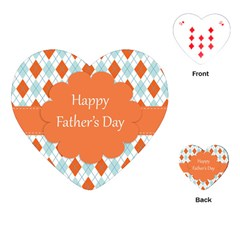happy Father Day  Playing Cards (Heart)