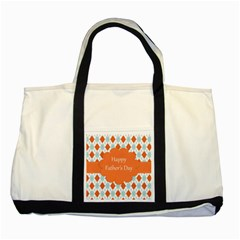 happy Father Day  Two Tone Tote Bag