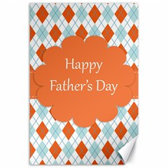 happy Father Day  Canvas 24  x 36