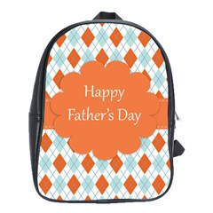 Happy Father Day  School Bags(large)