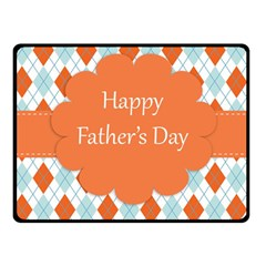 Happy Father Day  Fleece Blanket (small)