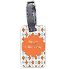 happy Father Day  Luggage Tags (One Side)