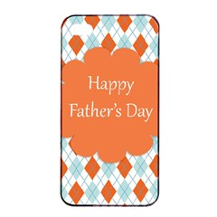 Happy Father Day  Apple Iphone 4/4s Seamless Case (black)