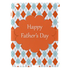 happy Father Day  Apple iPad 3/4 Hardshell Case (Compatible with Smart Cover)