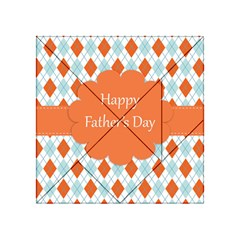 happy Father Day  Acrylic Tangram Puzzle (4  x 4 )