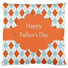 happy Father Day  Large Cushion Case (Two Sides)