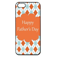 happy Father Day  Apple iPhone 5 Seamless Case (Black)