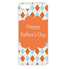 happy Father Day  Apple iPhone 5 Seamless Case (White)