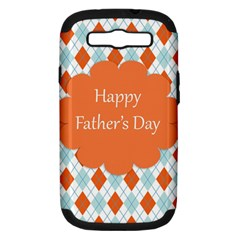 Happy Father Day  Samsung Galaxy S Iii Hardshell Case (pc+silicone)
