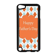 happy Father Day  Apple iPod Touch 5 Case (Black)