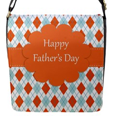 happy Father Day  Flap Messenger Bag (S)