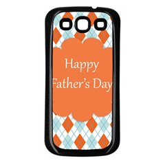 happy Father Day  Samsung Galaxy S3 Back Case (Black)