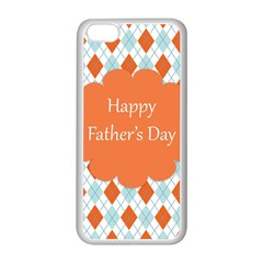 happy Father Day  Apple iPhone 5C Seamless Case (White)