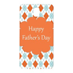 happy Father Day  Samsung Galaxy Note 3 N9005 Hardshell Back Case