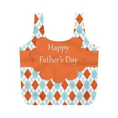 happy Father Day  Full Print Recycle Bags (M)