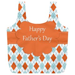 happy Father Day  Full Print Recycle Bags (L)