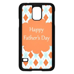 happy Father Day  Samsung Galaxy S5 Case (Black)