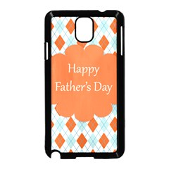 happy Father Day  Samsung Galaxy Note 3 Neo Hardshell Case (Black)