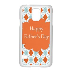 happy Father Day  Samsung Galaxy S5 Case (White)