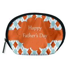 happy Father Day  Accessory Pouches (Medium)