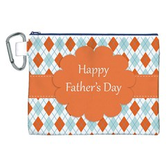 happy Father Day  Canvas Cosmetic Bag (XXL)