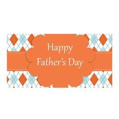 Happy Father Day  Satin Wrap